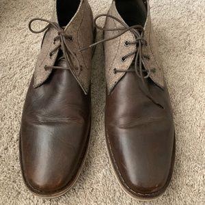Steve Madden leather men's boots size 13